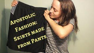 Apostolic Fashion: Turning Pants Into Skirts