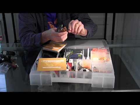 Materials in a Hummingbird Robotics Kit