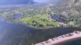 Горный Алтай. Телецкое озеро. Южный берег с DJI Phantom 4