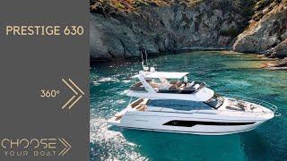 PRESTIGE 630 By Prestige Yachts: 360° Video (Virtual Reality)