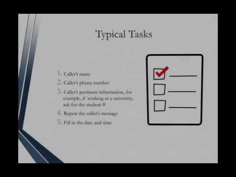 Administrative Assistant Certification - Administrative Assistant Overview