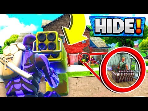 You CANNOT Hide from the QUAD ROCKET LAUNCHER! (Fortnite Hide and Seek)