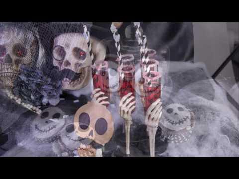 Ideias de decoração para Halloween no tema esqueletos