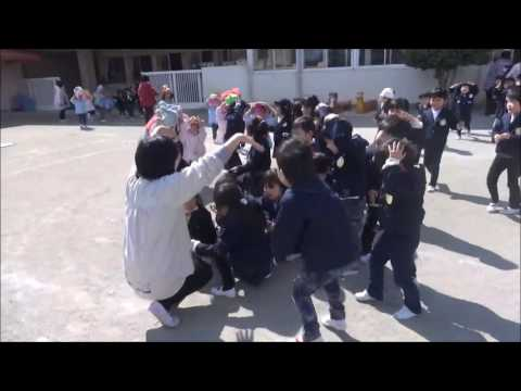 笠間 友部 ともべ幼稚園 子育て情報「地震避難訓練」