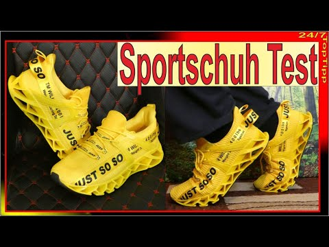 Sneaker Test - Gehen Laufschuhe günstig? ✔ Erste Anprobe - Sportschuhe - Trainingsschuhe - Fitness