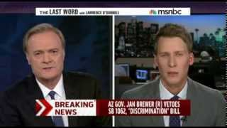 The Last Word with Lawrence O'Donnell - SB 1062 Veto discussion / Feb. 26, 2014