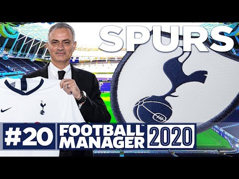 Football Manager 2020 | SPURS | #20 | OFFERING MOURINHO ADVICE! | FM20