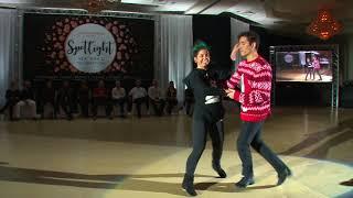 Spotlight New Years 2017 2018 Open Strictly Swing Jesse Lopez & Ariel Penu