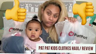 BEFORE YOU BUY SUMMER CLOTHES WATCH THIS: Pat Pat Kids Clothes Haul/ Review