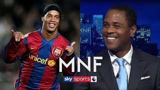 Patrick Kluivert picks INCREDIBLE all-time XI of the best players he has played with! | MNF