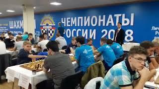 Первенство России по быстрым шахматам среди мужских команд