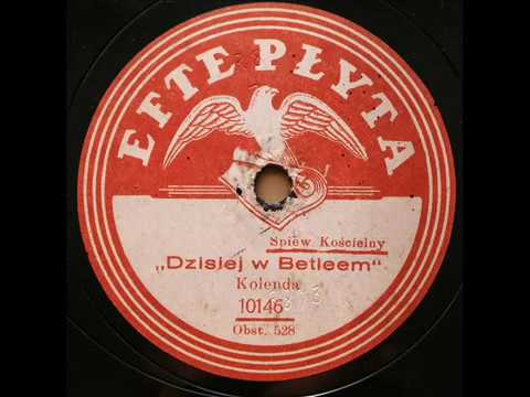 Dzisiaj w Betlejem-Jan Sztern-1925!