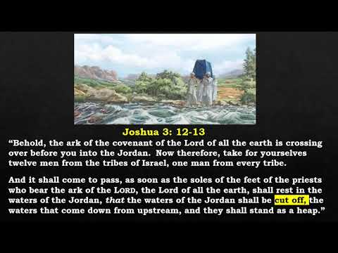8 Biblical Types Involving Water: 5 - The Crossing of the Jordan