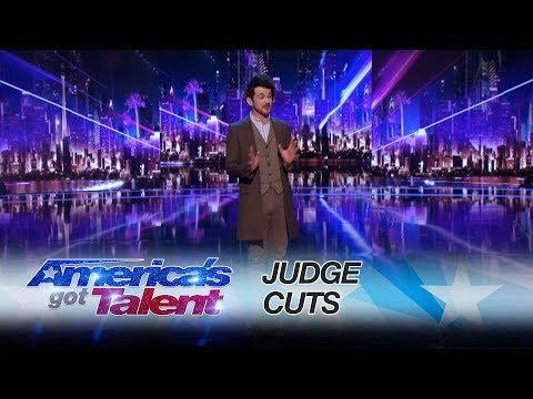 Colin Cloud: Mind Reader Amazes Mel B and Howie Mandel - America's Got Talent 2017