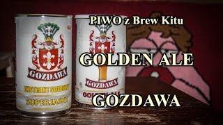 Piwo z Brew Kitu - Golden Ale - Gozdawa
