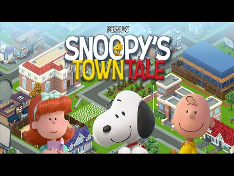 Peanuts Snoopy's Town Tale (by Activision Games) - Universal (iOS) - HD Gameplay Trailer