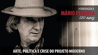 #AOVIVO | Arte, política e crise do projeto moderno | Mário Pedrosa, 120 anos