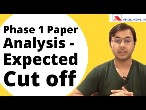 RBI Grade B - Phase 1 Paper Analysis Morning Shift - Expected Cut off | Date of Result