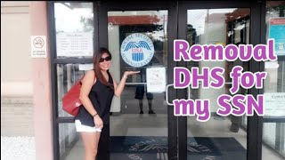 Removal DHS for my Social Security Number | Filipina American Couple