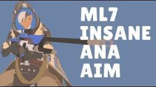 Overwatch Ana God mL7 Showing His Insane Aim Skills