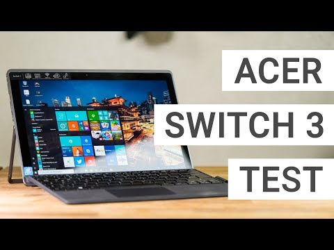 Acer Switch 3 Test - Eine günstige Surface Alternative? | Deutsch