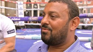 """Naseem Hamed """"Mayweather is Lucky He Didn't Fight ME!"""" & Kell Brook KNOCKOUT vs GGG!!!"""