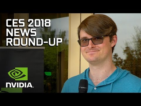 NVIDIA's Huge Announcements From CES 2018! (видео)