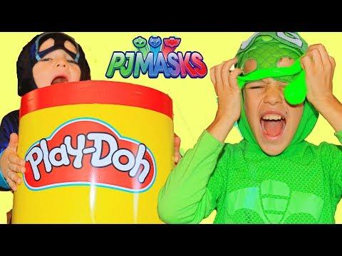 PJ Masks Night Ninja NEW STICKY SPLATS & Romeo's New Lab Car!