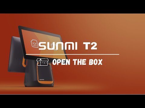 Sunmi T2 Desktop Android EPOS Touch Terminal with Built In Printer video thumbnail