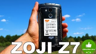 ✔ ZOJI Z7 - Отличный IP68 смартфон на Android 6! Cndirect.com