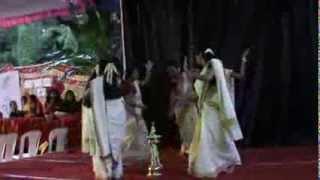 Thiruvathirakali - Onam 2013 - Brigade Metropolis Ladies