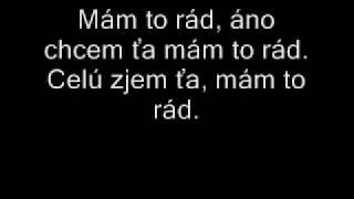 Elán-Zanedbaný sex- Text!!(lyrics)