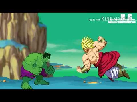 Hulk vs broly (animation cage match episode 3)