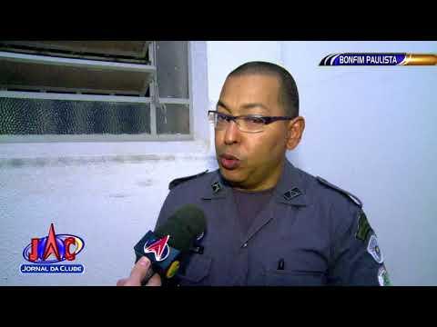 Policial aposentado reage a assalto em Bonfim Paulista - Jornal da Clube (23/10/2017)