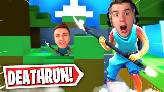 NEW Minecraft Default Deathrun in Fortnite with Miniminter!  (Fortnite Creative Mode)