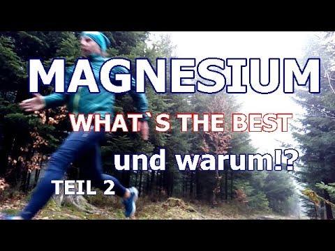 #2 Welches Magnesium ist nun das Beste! Erfährst du hier Teil 2
