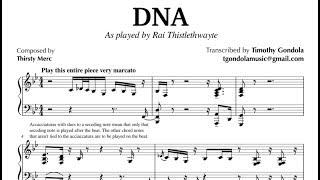 Rai Thistlethwayte| DNA- Transcription
