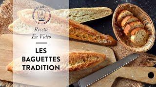 Recette en vidéo : les Baguettes Tradition de Chef Philippe !