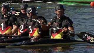 2019 ECA Canoe Polo European Championships  - Mens Senior Final - GBR Vs. GER
