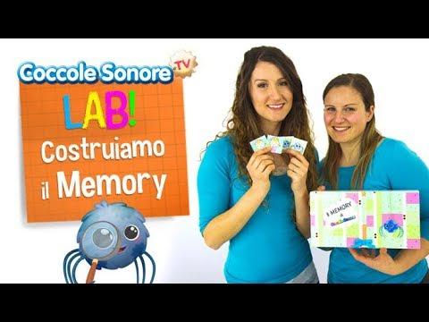 Costruiamo il gioco del memory - Coccole Sonore Lab