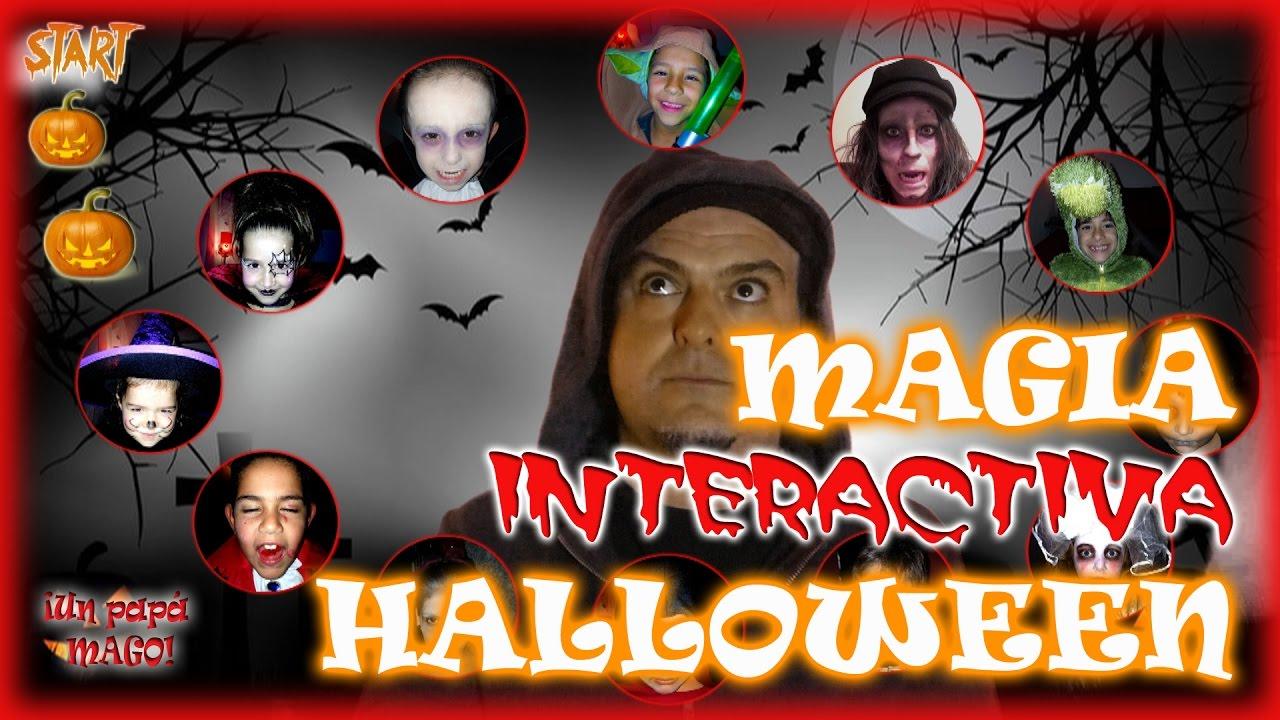 TRUCO DE MAGIA INTERACTIVA | ESPECIAL HALLOWEEN | isFamilyFriendly