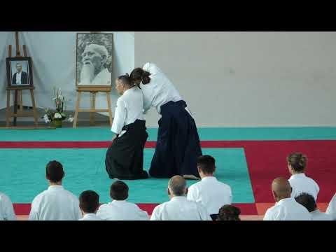 Aikido Stage 2015 Mitsuo FUNAKOSHI