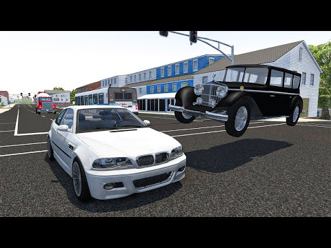 Traffic Crashes #4 - BeamNG DRIVE | SmashChan