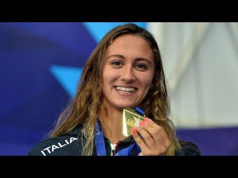 SIMONA QUADARELLA! Women's 800m Freestyle Glasgow 2019. BRONZO CARAMIGNOLI