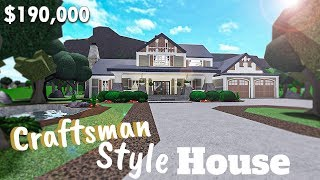 Bloxburg | Family Craftsman Style || House Build [Roblox][NO Large Plot]