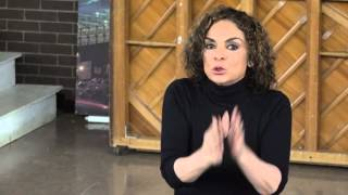 Jasmine Guy Teaches Master Class at High School