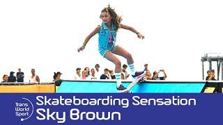 11 year old Skateboarding sensation Sky Brown! | Trans World Sport