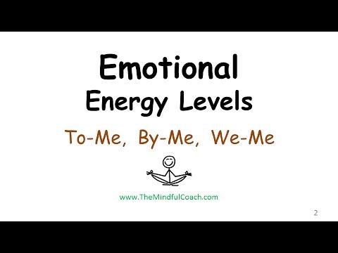 Emotional Energy Levels