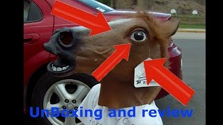 Horse mask Unboxing and review (Vat19)