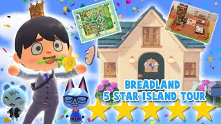 touring my 5 STAR ISLAND in animal crossing... a lot happened oh my
